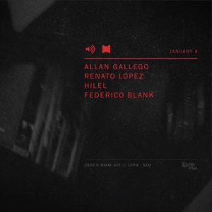 Federico Blank @ Electric Pickle